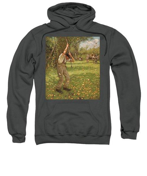 Shaking Down Cider Apples  Sweatshirt