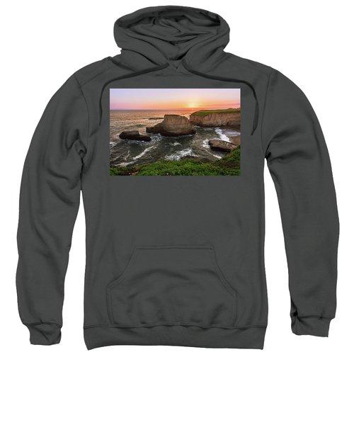 Shark Fin Cove Sunset Sweatshirt