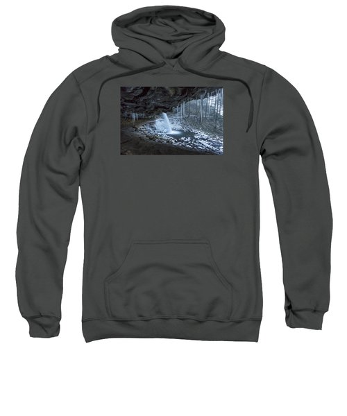 Sheltered From The Blizzard Sweatshirt