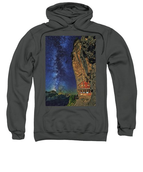 Sheltered From The Vastness Sweatshirt