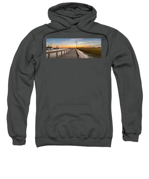 Shem Creek Pier Panoramic Sweatshirt