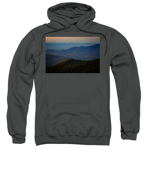Shenandoah Valley At Sunset Sweatshirt