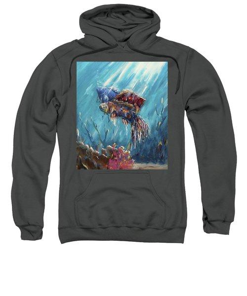 Shine Trough The Ocean Sweatshirt