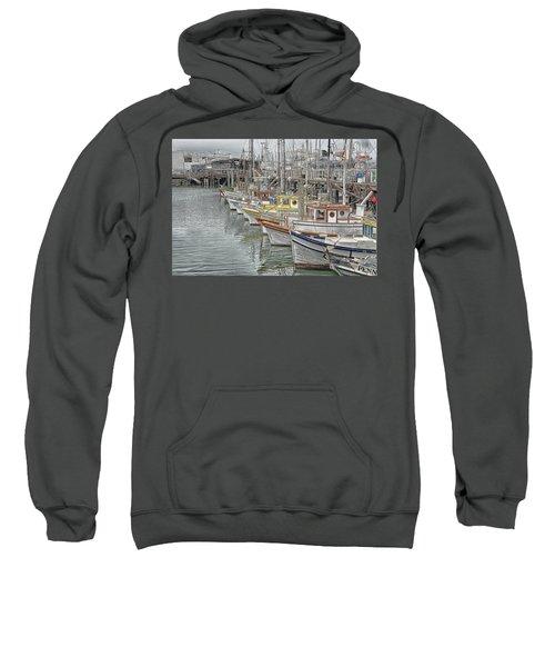 Ships In The Harbor Sweatshirt