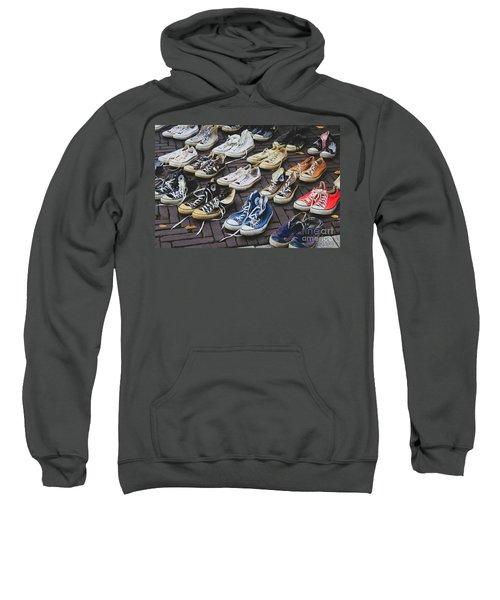 Shoes At A Flea Market Sweatshirt