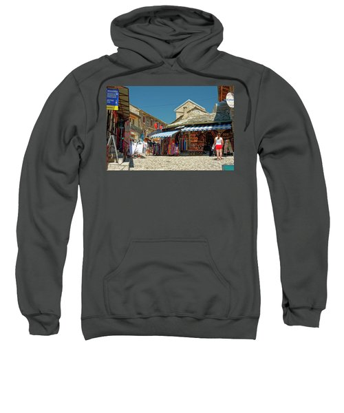 Shops And Cobblestones Sweatshirt