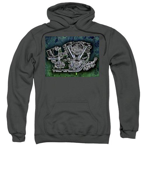 Harley - Davidson Shovelhead Engine Sweatshirt