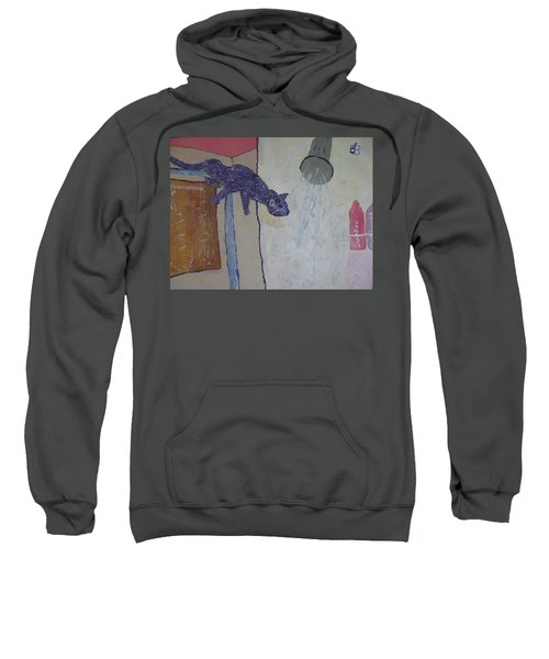 Shower Cat Sweatshirt
