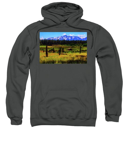 Sierra Nevada Mountains Sweatshirt