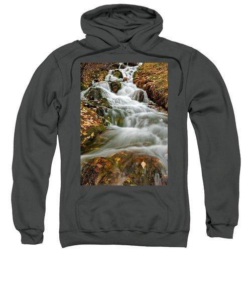 Silky Waterfall Sweatshirt