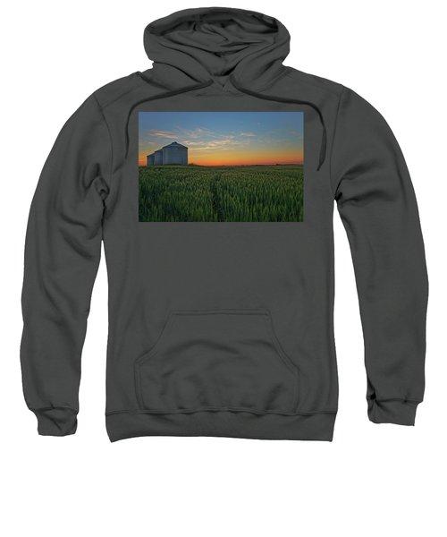 Silos At Sunset Sweatshirt