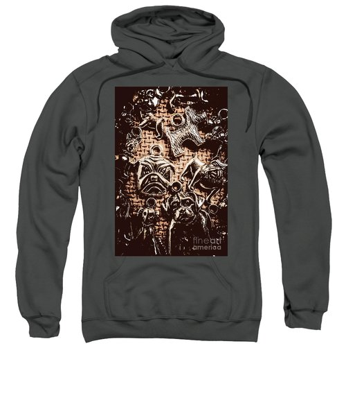 Silver Dog Show Sweatshirt
