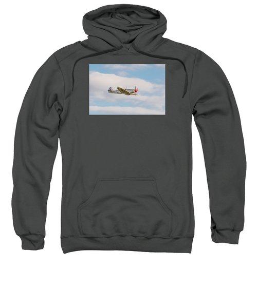 Silver Spitfire Sweatshirt by Gary Eason