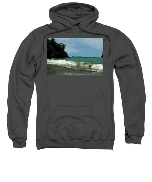 Simple Costa Rica Beach Sweatshirt