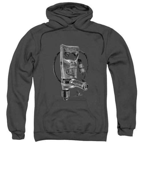 Sioux Drill Motor 1/2 Inch Bw Sweatshirt