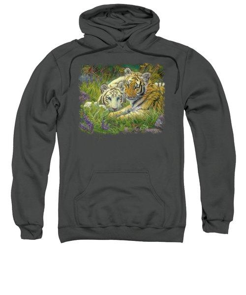 Sisters Sweatshirt by Lucie Bilodeau