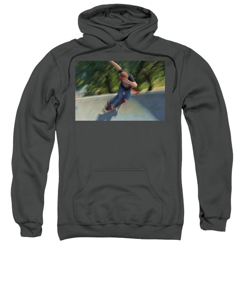 Skateboard Action Sweatshirt