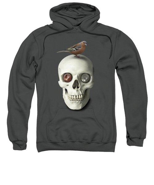 Skull And Bird Sweatshirt