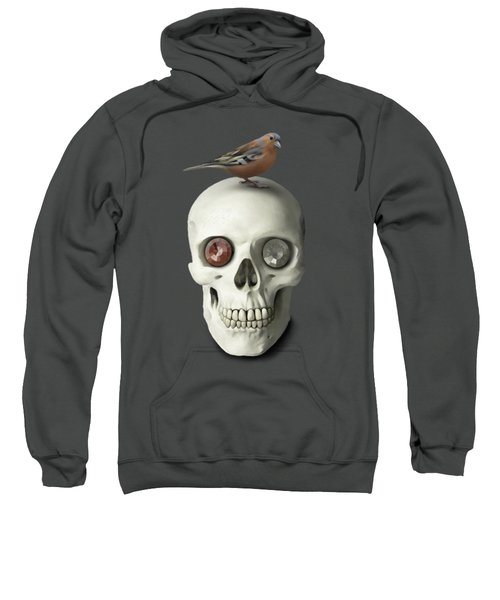 Skull And Bird Sweatshirt
