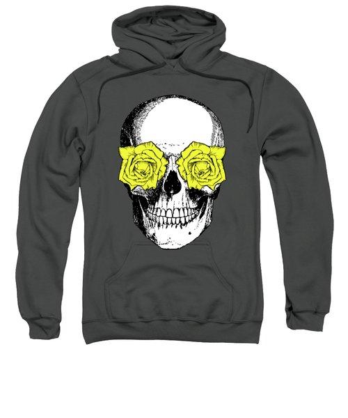 Skull And Roses Sweatshirt