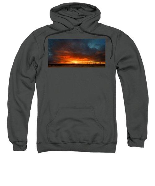 Sky On Fire Sweatshirt