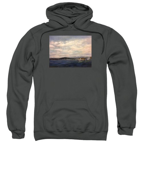 The Port Of Everett From Howarth Park Sweatshirt