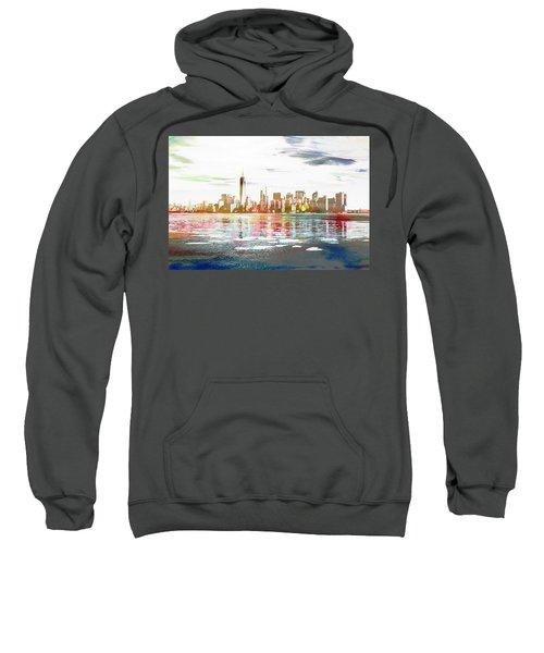 Skyline Of New York City, United States Sweatshirt
