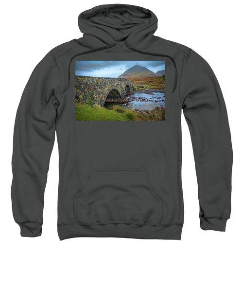 Sligachan Bridge View #h4 Sweatshirt