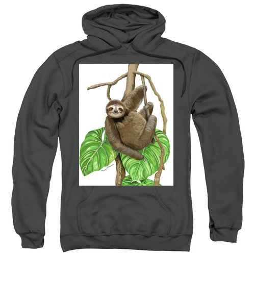 Hanging Three Toe Sloth  Sweatshirt