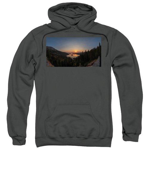 Smokey Sunrise At Emerald Bay Sweatshirt