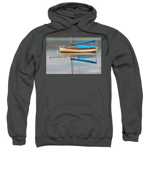 Sweatshirt featuring the photograph Smooth Sailing by Werner Padarin