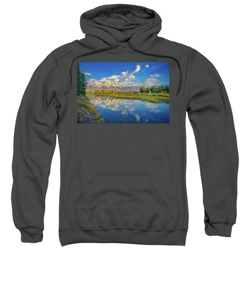 Snake River Reflection Grand Teton Sweatshirt