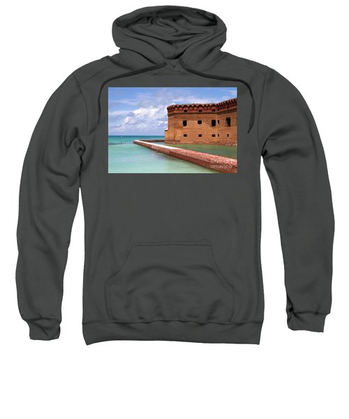 Snorkelers Fort Jefferson Sweatshirt