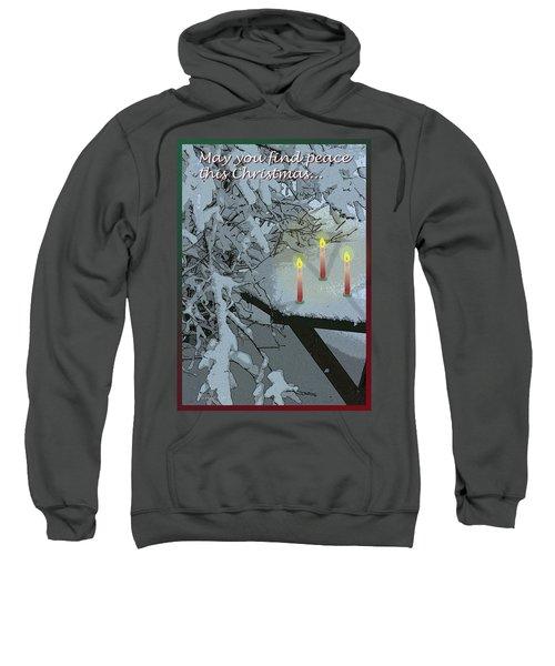 Snow And Candlelight Sweatshirt