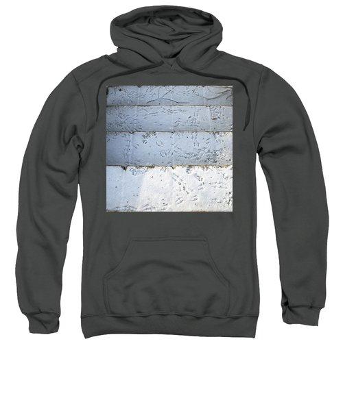 Snow Bird Tracks Sweatshirt