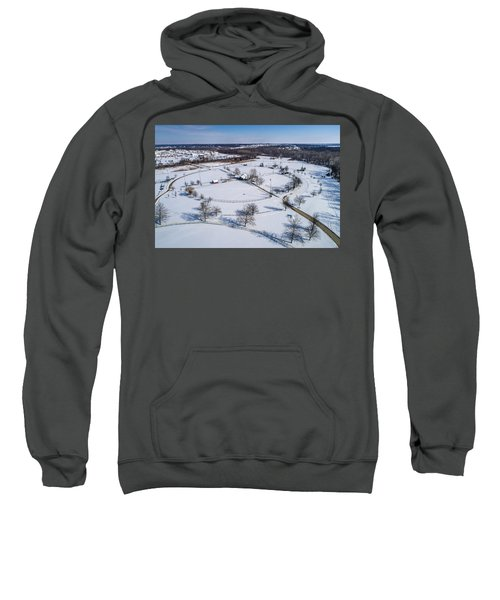 Snow Diamonds Sweatshirt