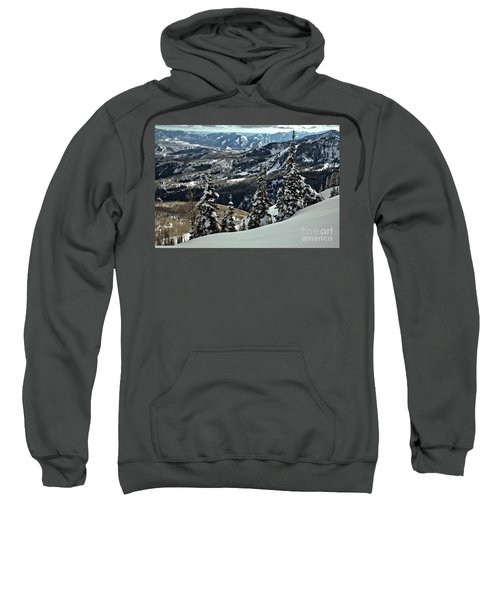 Snow Ghosts And Mountain Ranges Sweatshirt
