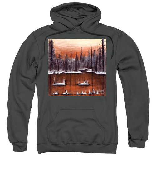 Snow Glow  Sweatshirt