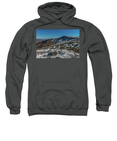 Snow In The Rain Shadow Sweatshirt