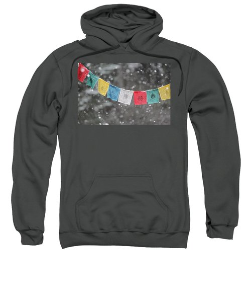 Snow Prayers Sweatshirt