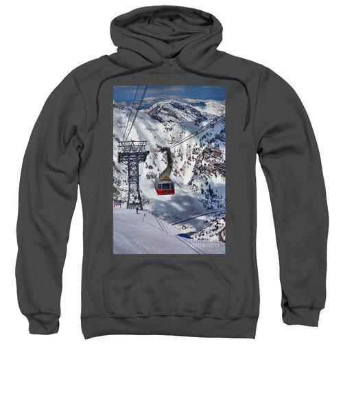 Snowbird Tram Portrait Sweatshirt