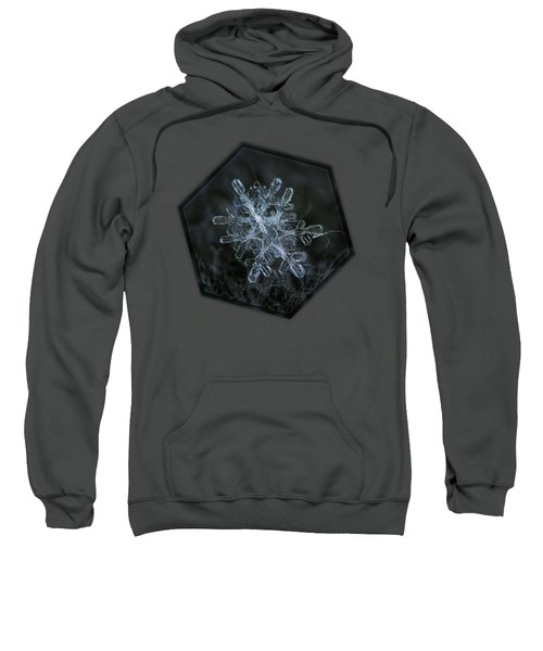 Snowflake Of January 18 2013 Sweatshirt