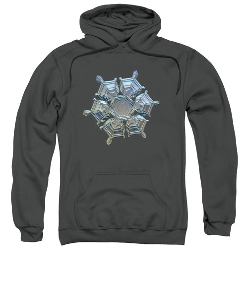 Snowflake Photo - Ice Relief Sweatshirt
