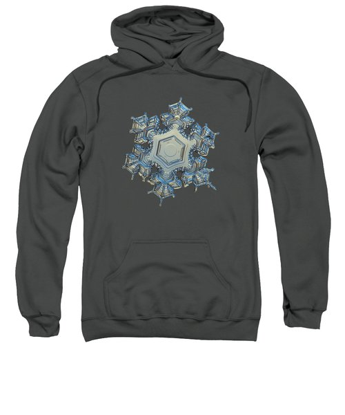 Snowflake Photo - Iron Crown Sweatshirt