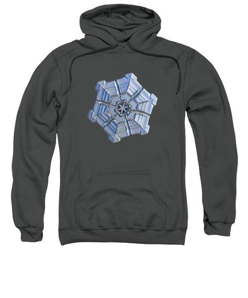 Snowflake Photo - Winter Fortress Sweatshirt