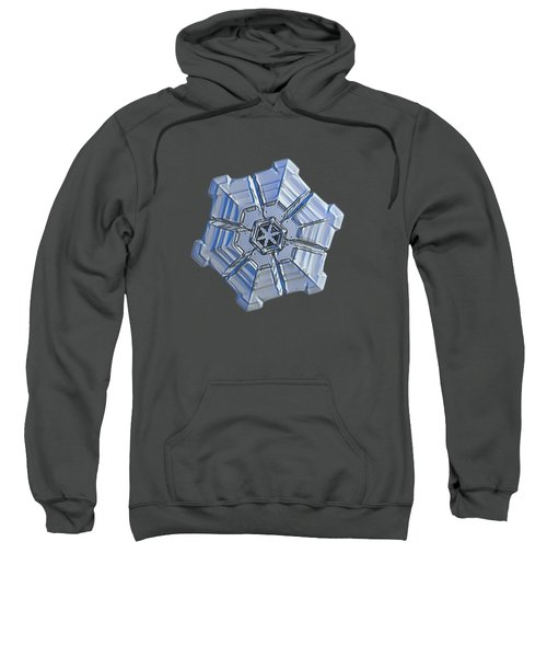 Snowflake Photo - Winter Fortress Sweatshirt