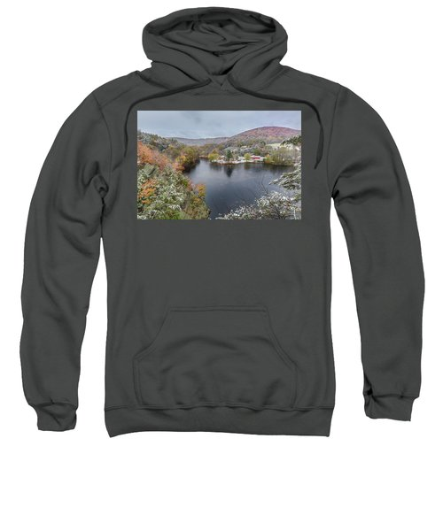Sweatshirt featuring the photograph Snowliage by Bill Wakeley