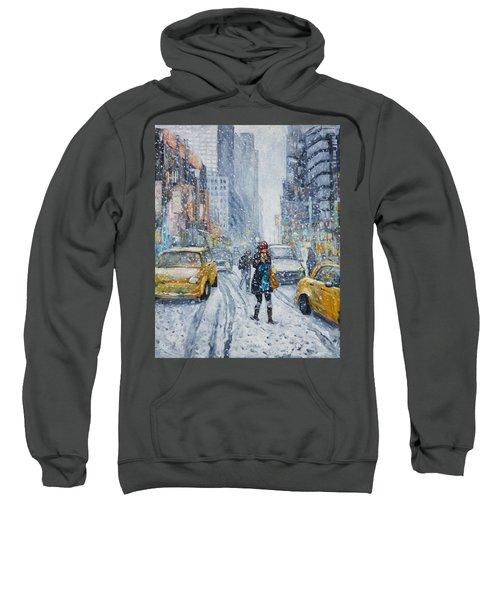 Urban Snowstorm Sweatshirt