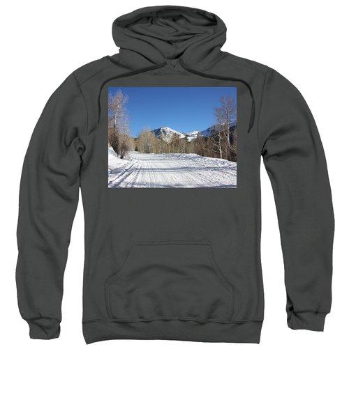 Snowy Aspen Sweatshirt