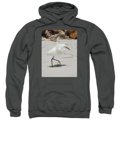 Snowy Egret 6429 Windy Sweatshirt